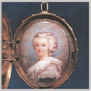 Exposition : Marie-Antoinette à Versailles (1955) - Les bijoux  Portra11