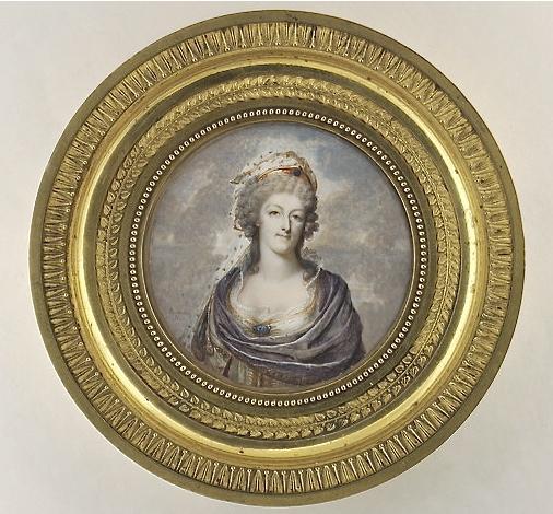 Marie Antoinette, miniatures attribuées à ou d'après François Dumont - Page 2 Portra12