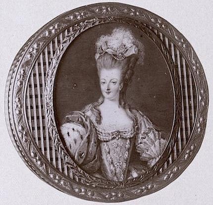 Portraits de Marie-Antoinette sur les boites et tabatières Proxy-13