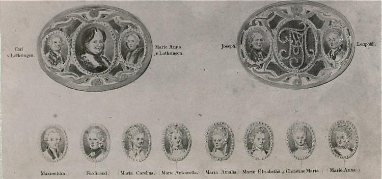 Portraits de Marie-Antoinette sur les boites et tabatières Proxy-17