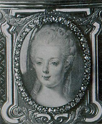 Portraits de Marie-Antoinette sur les boites et tabatières Proxy-18