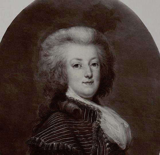 wertmuller - Marie-Antoinette en habit de chasse, ou chemise blanche, par Wertmüller (1788) Proxy-21