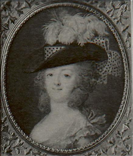 Portraits de Marie-Antoinette et Louis XVI, par Louis-Marie Sicard, dit Sicardi ou Sicardy Proxy10