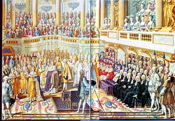 Le couronnement et le sacre de Louis XVI Sacre_10