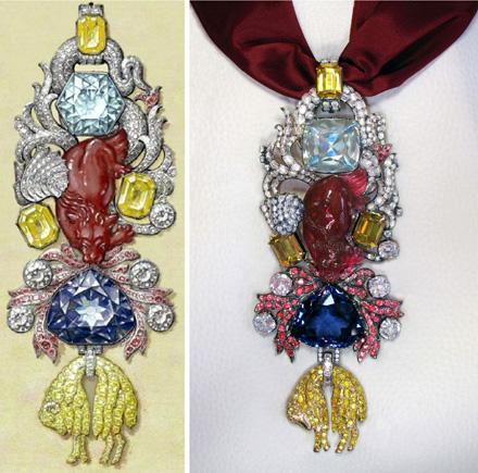 Bijoux de Marie-Antoinette : le collier de perles de Barbara Hutton Toison10