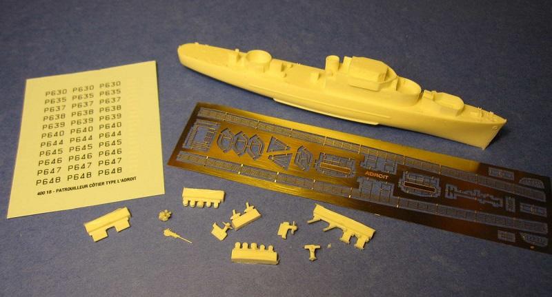 Escorteur côtier L'ALERTE - 1/400 de L'Arsenal par Dewoitine 400_1810