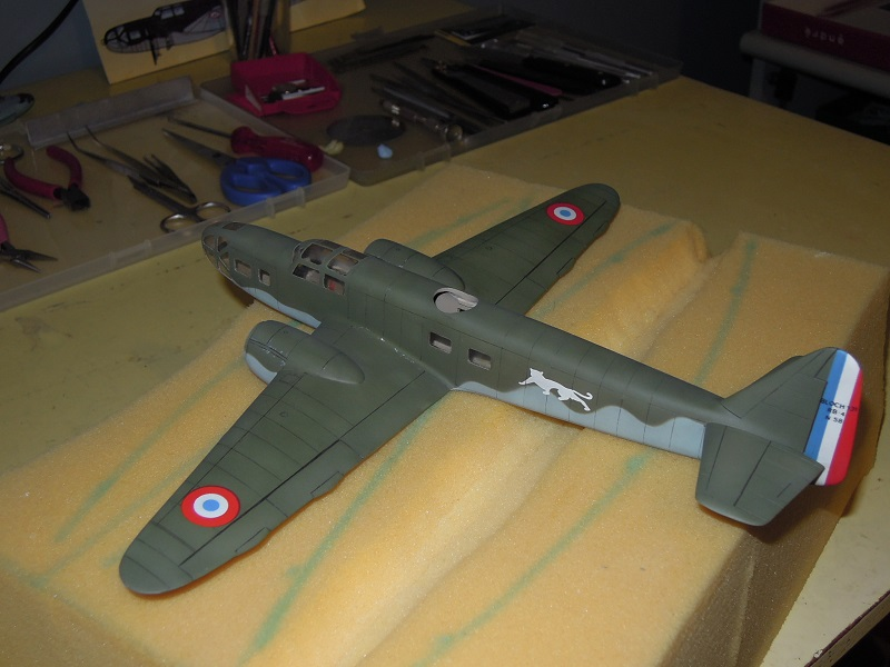 Bloch MB 131 de Mach2 au 1/72 par Dewoitine Dscn0726