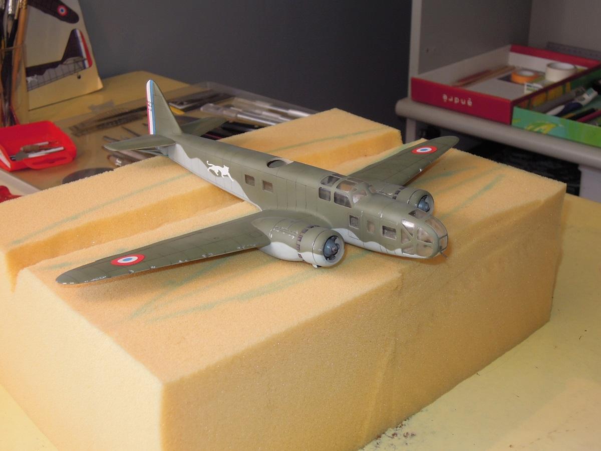 Bloch MB 131 de Mach2 au 1/72 par Dewoitine Dscn0810