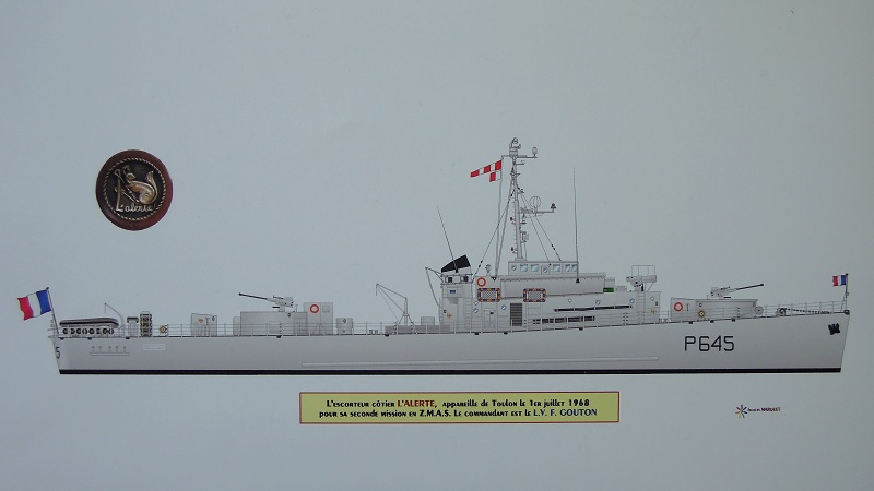 Escorteur côtier L'ALERTE - 1/400 de L'Arsenal par Dewoitine Dscn5214
