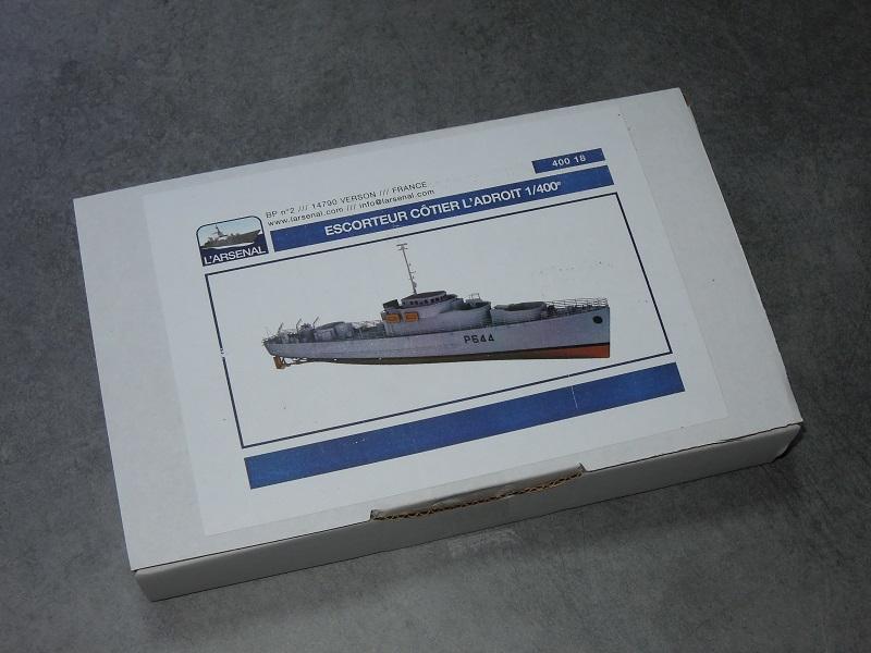 Escorteur côtier L'ALERTE - 1/400 de L'Arsenal par Dewoitine Dscn5216