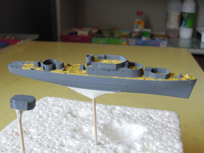 Escorteur côtier L'ALERTE - 1/400 de L'Arsenal par Dewoitine Dscn5217