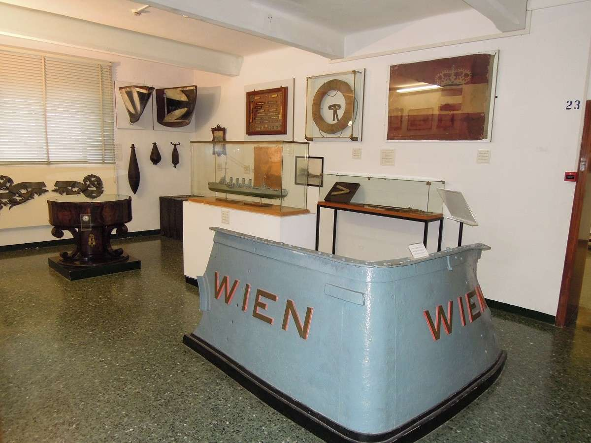 Il museo storico navale de Venise Dscn5911