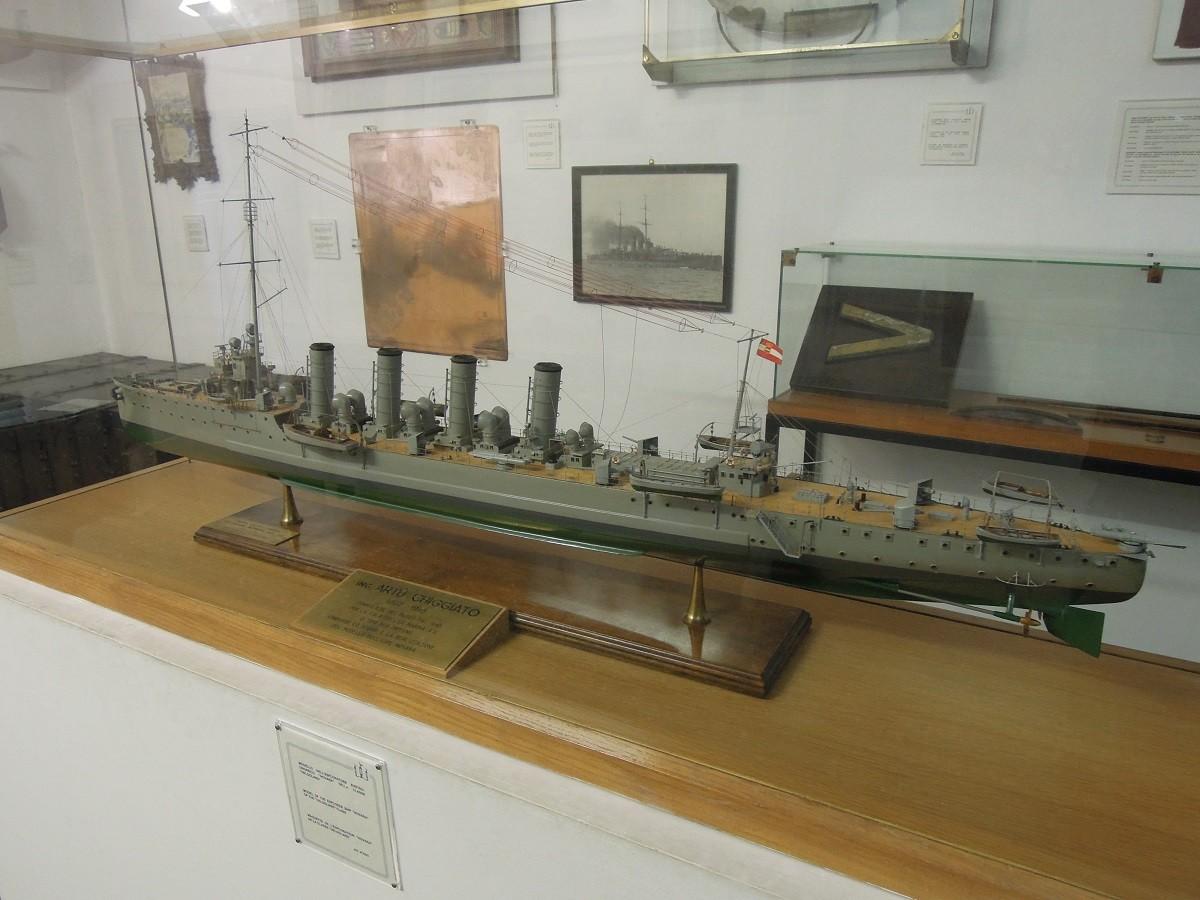 Il museo storico navale de Venise Dscn5913