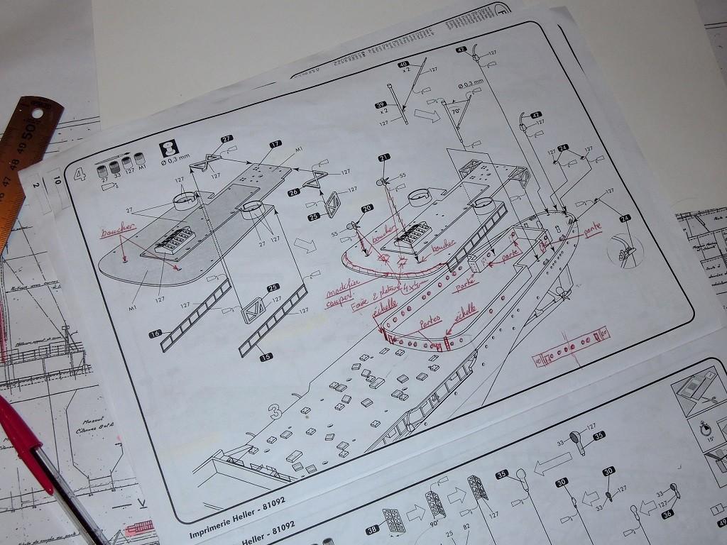 Pétrolier ravitailleur d'escadre  LA SAÔNE - HELLER 1/400  - Page 2 G110