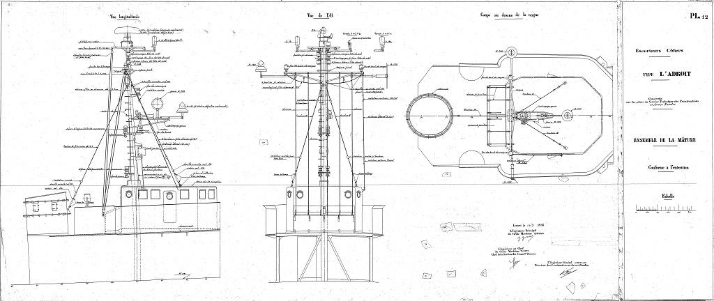 Escorteur côtier L'ALERTE - 1/400 de L'Arsenal par Dewoitine - Page 4 L_adro10