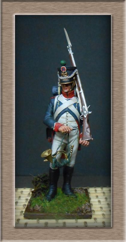 Tirailleur chasseur de la Garde 1809 (métal modèle ) 74_10720