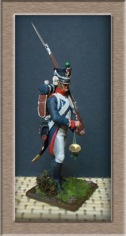 Tirailleur chasseur de la Garde 1809 (métal modèle ) 74_10814