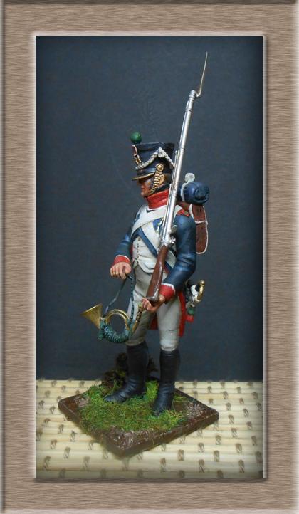 Tirailleur chasseur de la Garde 1809 (métal modèle ) 74_10916