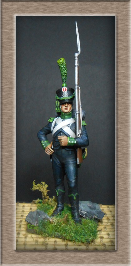 Chasseur du Bataillon des Tirailleurs Corses 1807-1811 74_15111