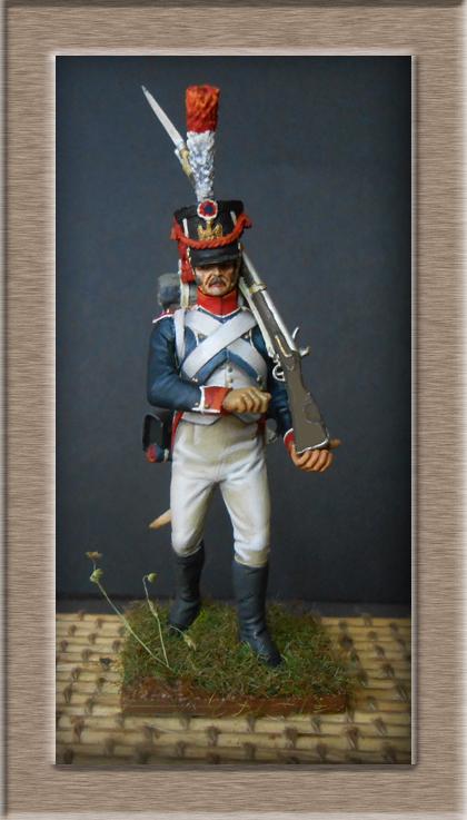 Reprise Tirailleur-Grenadiers Garde Impériale Métal Modèles 54mm 74_32513