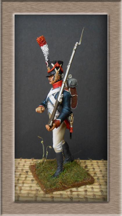 Reprise Tirailleur-Grenadiers Garde Impériale Métal Modèles 54mm 74_33312