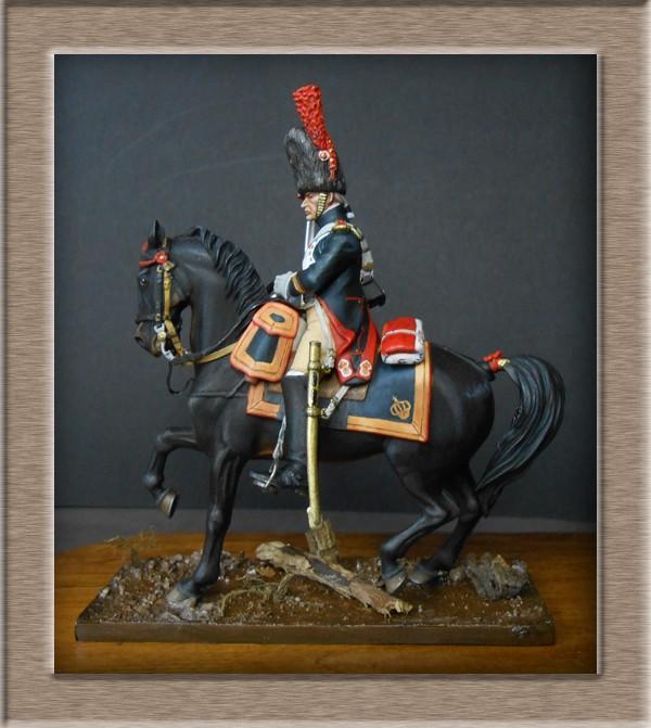 Grenadier a cheval Garde Impériale (Maréchal des logis ) Métal Modèles 54mm 74_38111