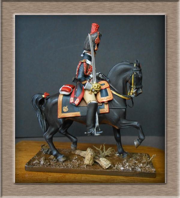Grenadier a cheval Garde Impériale (Maréchal des logis ) Métal Modèles 54mm 74_38711
