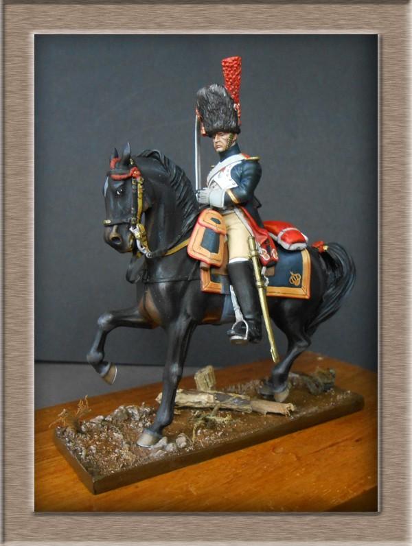 Grenadier a cheval Garde Impériale (Maréchal des logis ) Métal Modèles 54mm 74_39611