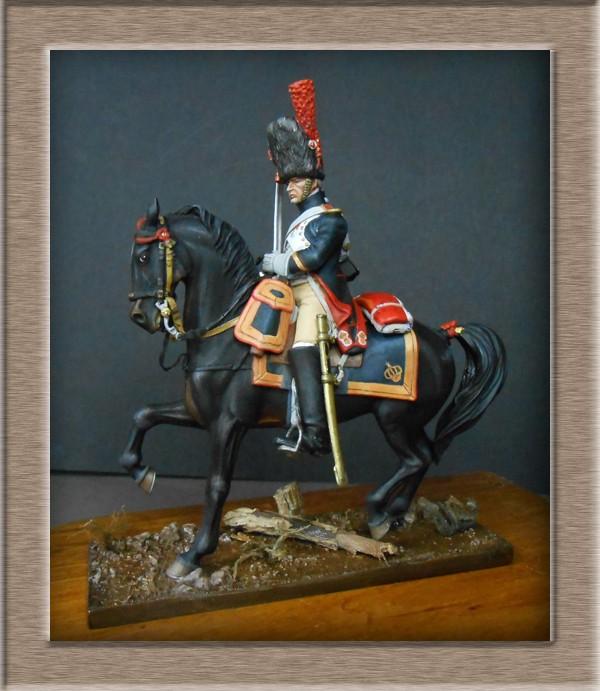 Grenadier a cheval Garde Impériale (Maréchal des logis ) Métal Modèles 54mm 74_39911