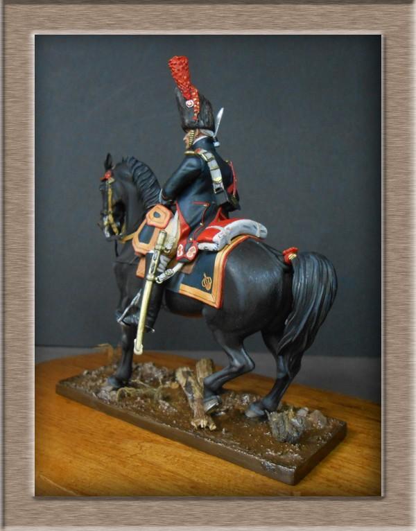 Grenadier a cheval Garde Impériale (Maréchal des logis ) Métal Modèles 54mm 74_40311