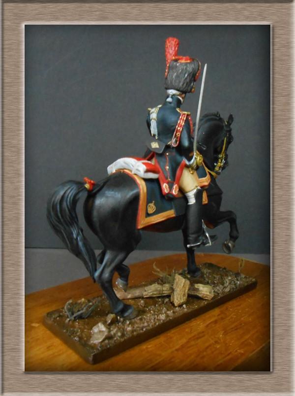 Grenadier a cheval Garde Impériale (Maréchal des logis ) Métal Modèles 54mm 74_40811