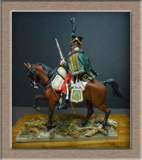 Grenadier 15e régiment Infanterie de la ligne Espagne 1807 MM 54m (modifications)  74_62910