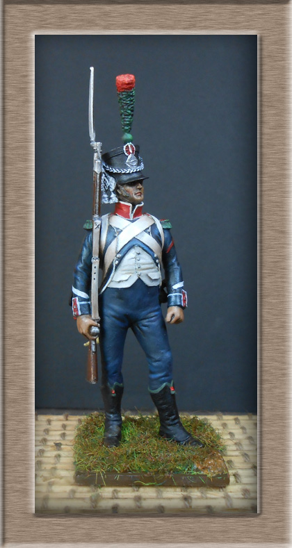 Chasseur d'infanterie légère ( métal modèles) 74_85112