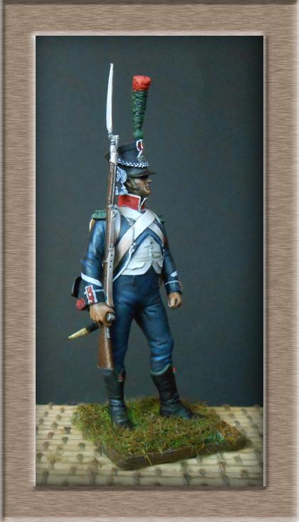 Chasseur d'infanterie légère ( métal modèles) 74_86012