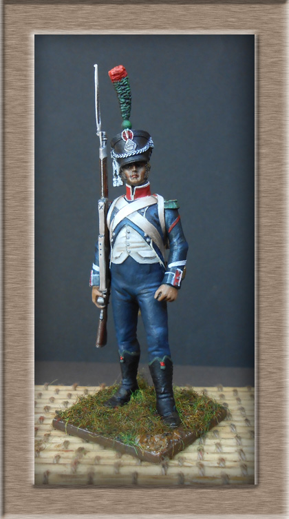 Chasseur d'infanterie légère ( métal modèles) 74_87612