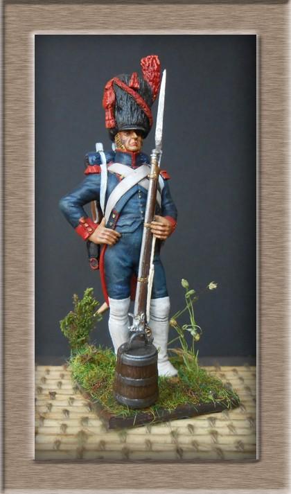 Artilleur de la garde grande tenue (métal modèles) 74_94811