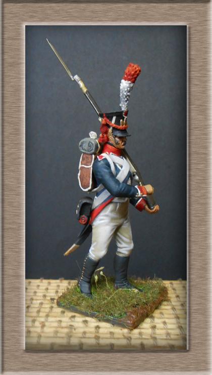 Reprise Tirailleur-Grenadiers Garde Impériale Métal Modèles 54mm 74_u3212