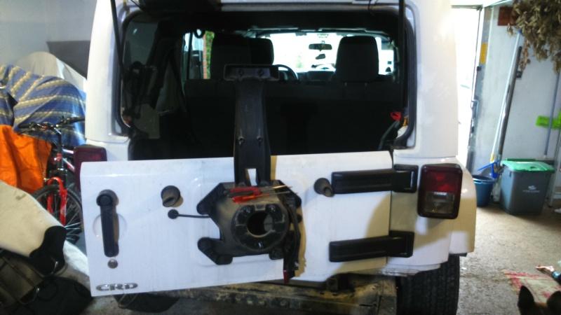 nouveau pare choc du jeep 1110