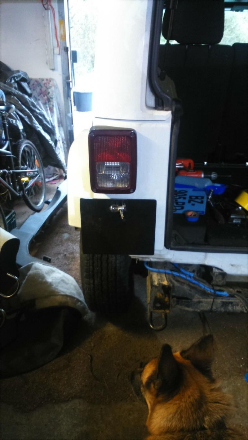 nouveau pare choc du jeep 1210