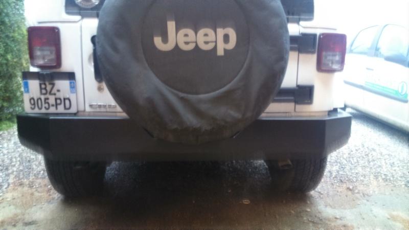 nouveau pare choc du jeep 1310