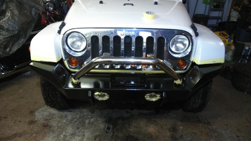 nouveau pare choc du jeep 1410