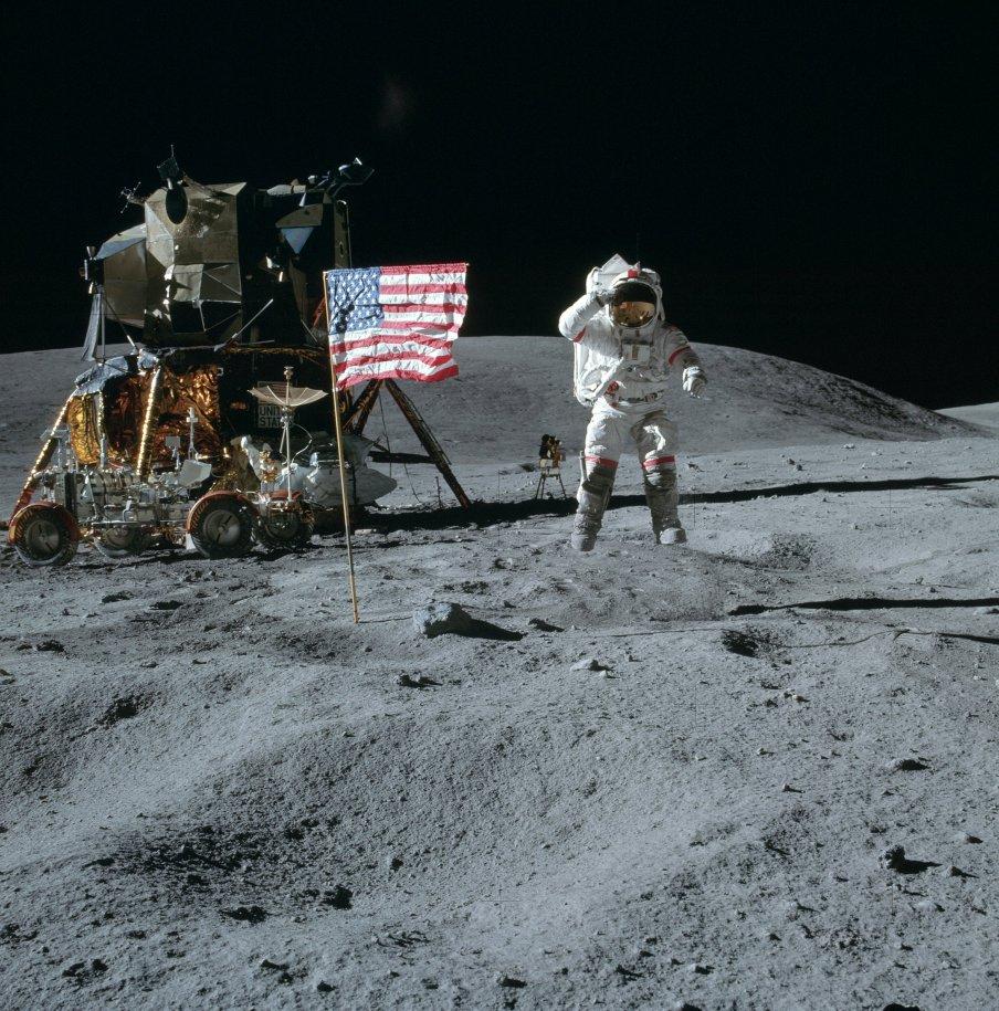 "Apollo 16 ""Jump Salute"" Anomalies As16-111"