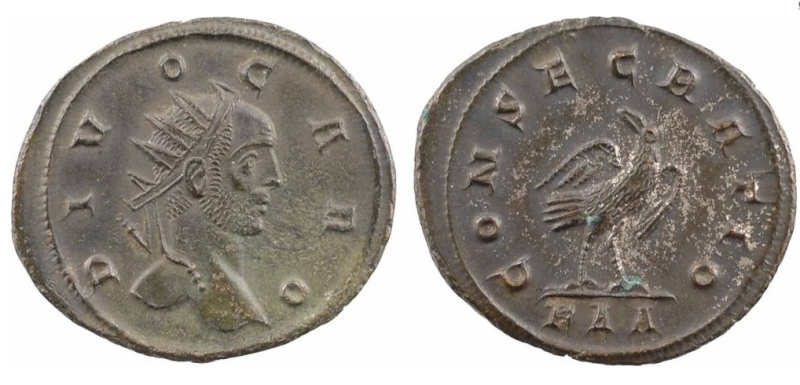 Les monnaies de Consécration de Barzus - Page 15 Carus_13