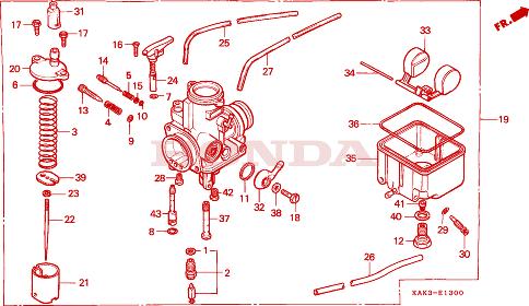 pièces carburateur origine (je sais pas comment elle s'appelle ^^) E_130010