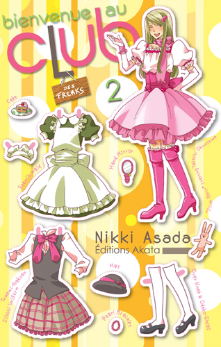 ASADA Nikki - Bienvenue au club - Tome 2: Bienvenue au club des freaks Bienve11