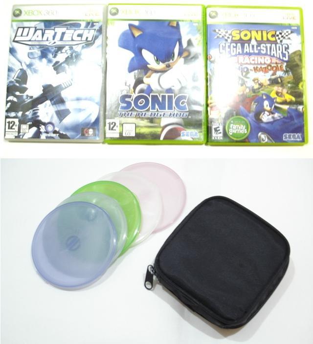 Dreamcast avec SD Card Mod + Jeux 360 et Housse de Transport Jeux GC Jeux_310