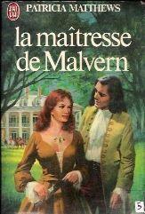 La maitresse de Malvern de Patricia Matthews Mai110