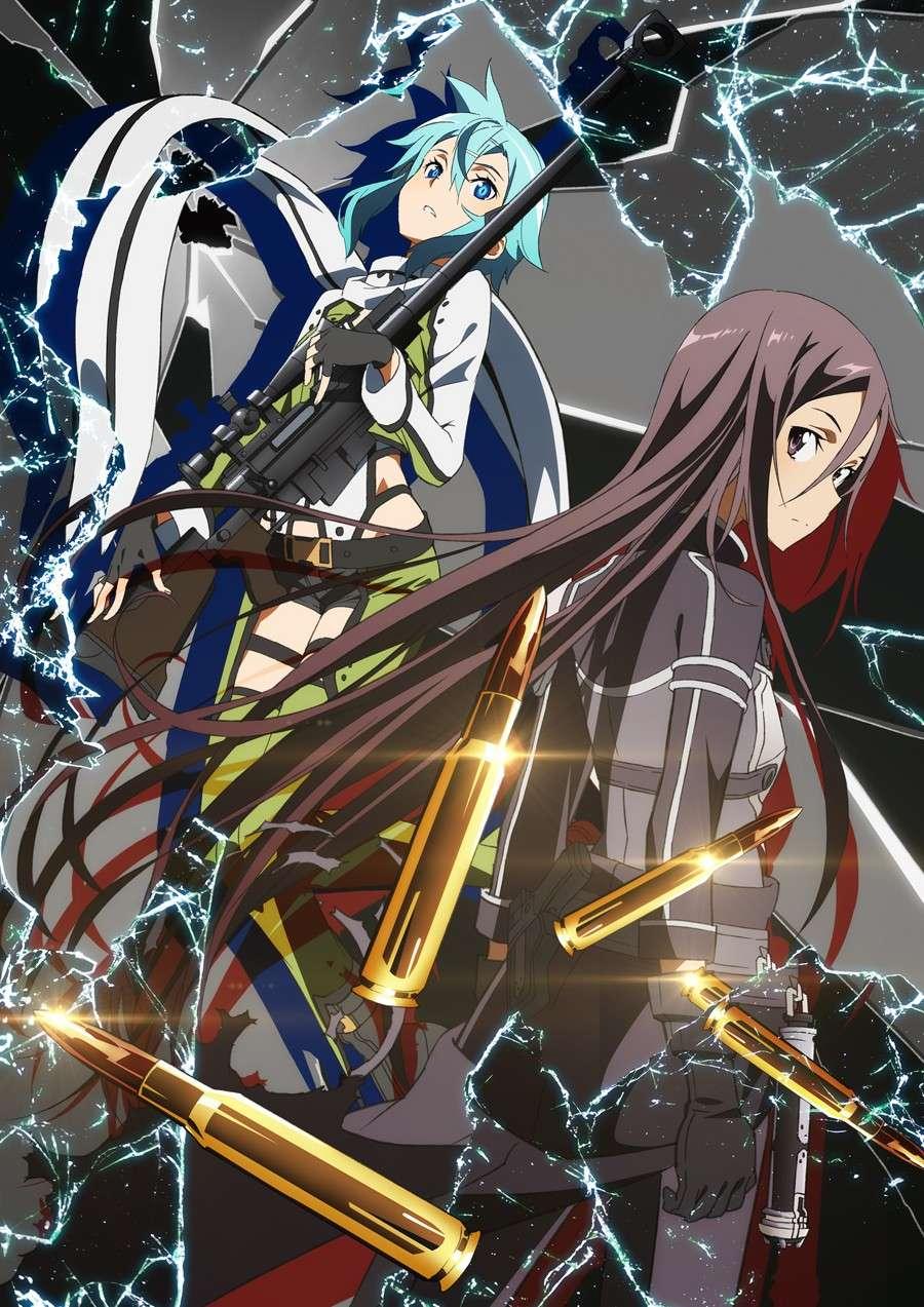 """Crunchyroll anuncia los detalles de la llegada del anime """"Sword Art Online II"""" Gun_ga10"""