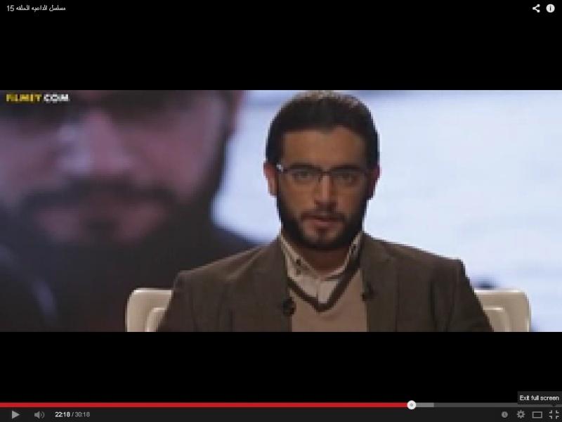 الفنانين يبرزون الدجال / عمرو خالد كداعية وسطي ثورجي متفاعل معهم !! Uouus_10