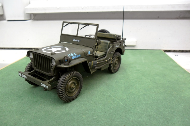 "Jeep Willys ""Short Stop"" Italeri 1/24 (finie) - Page 4 13070017"